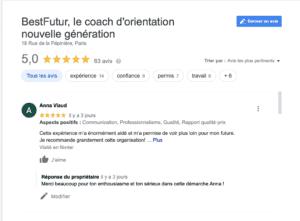 avis bestfutur coach orientation